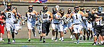 23 August 2008: The Rochester Rattlers take the field prior to a game against the Philadelphia Barrage during the Semi-Finals of the Major League Lacrosse Championship Weekend at Harvard Stadium in Boston, MA. The Rattlers defeated the Barrage 16-15 in sudden death overtime, advancing to the upcoming Championship Game...Mandatory Photo Credit: Ed Wolfstein Photo
