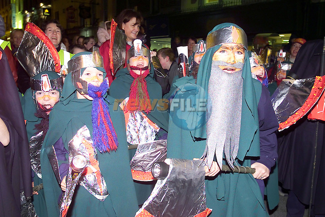 Orcs dressed up for the Lord of the Gouls Spook Parade.Picture Fran Caffrey Newsfile...This Picture is sent to you by:..Newsfile Ltd.The View, Millmount Abbey, Drogheda, Co Louth, Ireland..Tel: +353419871240.Fax: +353419871260.GSM: +353862500958.ISDN: +353419871010.email: pictures@newsfile.ie.www.newsfile.ie