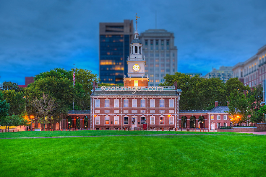 Independence Hall, National Historical Park known primarily as the location where both the Declaration of Independence and the United States Constitution