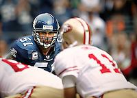 Seahawks vs 49ers<br /> Lofa Tatupu