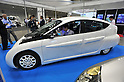 October 12, 2011, Yokohama, Japan - SIM-LET, an electric vehicle that can run 333 kilometers in a single charge, is dispalyed  during Electric Vehicle Development Technology Exhibition 2011 in Yokohama, south of Tokyo, on Wednesday, October 12, 2011. EVEX covers all EV-related processes from materials and design to completion. The trade show also provides rare opportunities to see and experience a trial ride the lates EVs. (Photo by Natsuki Sakai/AFLO) [3615] -mis-