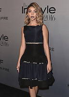 LOS ANGELES - OCTOBER 24:  Sarah Hyland at the 2nd Annual InStyle Awards at The Getty Center on October 24, 2016 in Los Angeles, California.Credit: mpi991/MediaPunch
