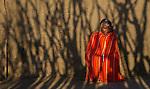 Maasai man, Losho village, Kenya