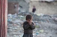Chamne Babrak Camp Kabul 5-1-14