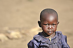 A girl displaced by war in the eastern Congo lives in a camp in the village of Sasha. A quarter of a million people have been newly displaced by fighting in the eastern Congo, where some 5.4 million have died since 1998 from war-related violence, hunger and disease.