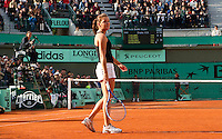Agnieska Radwanska (POL)  & Maria Kirilenko (RUS) against Serena & Venus Williams (USA) in the quaterfinals of the women's doubles. Williams & Williams beat Radwanska & Kirilenko 6-2 6-3..Tennis - French Open - Day 9 - Mon 31 May 2010 - Roland Garros - Paris - France..© FREY - AMN Images, 1st Floor, Barry House, 20-22 Worple Road, London. SW19 4DH - Tel: +44 (0) 208 947 0117 - contact@advantagemedianet.com - www.photoshelter.com/c/amnimages