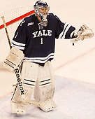 Sam Tucker (Yale - 1) The Boston University Terriers defeated the visiting Yale University Bulldogs 5-2 on Tuesday, December 13, 2016, at the Agganis Arena in Boston, Massachusetts.