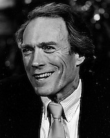 Actor-Director Clint Eastwood. .(1985 photo by Ron Riesterer)