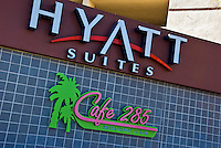 Palm Springs, CA, Hyatt Suites, Cafe 285, N Palm Canyon Dr