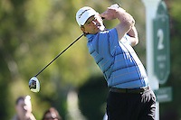 02/20/11 Pacific Palisades, CA: Retief Goosen during the final round of the Northern Trust Open held at the Riviera Country Club.