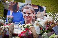 17.06.2016 - Vigil & Memorial for Jo Cox MP in London's Parliament Square