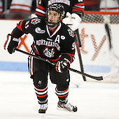 Robbie Vrolyk (NU - 91) - The visiting Northeastern University Huskies defeated the Boston University Terriers 6-5 on Friday, January 18, 2013, at Agganis Arena in Boston, Massachusetts.