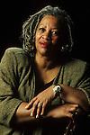Toni Morrison American writer in 1992 in Paris