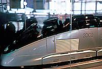 Vancouver: EXPO '86--GM Pavilion; Train of 2002. Photo '86.