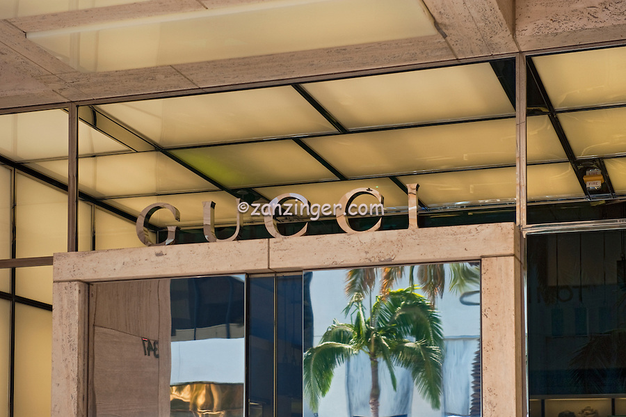 Gucci, Rodeo Drive, Beverly Hills, CA, Luxury, Shopping, Boutique
