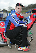 Henning Bager of Lakeside Hammers Speedway Team - Lakeside Hammers Press Day at The Arena Essex Raceway, Thurrock - 07/03/07 - MANDATORY CREDIT: Rob Newell/TGSPHOTO