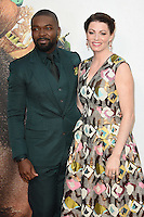 LONDON, UK. October 9, 2016: David Oyelowo &amp; Jessica Oyelowo at the London Film Festival 2016 premiere of &quot;Queen of Katwe&quot; at the Odeon Leicester Square, London.<br /> Picture: Steve Vas/Featureflash/SilverHub 0208 004 5359/ 07711 972644 Editors@silverhubmedia.com