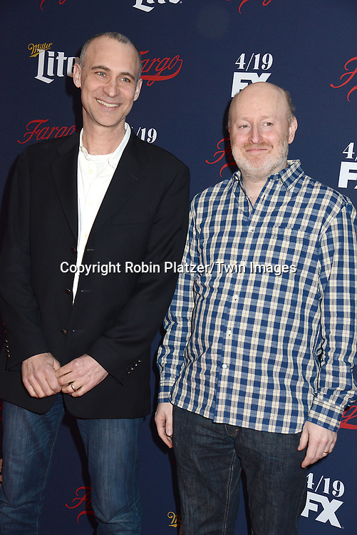 Joel Fields &amp; Joe Weisberg attends FX's 2017 All-Star Upfront on  April 6, 2017 at SVA Theater in New York, New York, USA. <br /> <br /> photo by Robin Platzer/Twin Images<br />  <br /> phone number 212-935-0770
