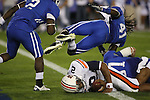 Auburn quarterback Cam Newton scores a touchdown against UK at Commonwealth Stadium on Saturday, Oct. 9, 2010. Photo by Scott Hannigan | Staff
