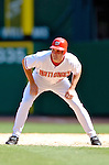 5 September 2005: Ryan Zimmerman, rookie infielder for the Washington Nationals, during a game against the Florida Marlins. The Nationals defeated the Marlins 5-2 at RFK Stadium in Washington, DC, maintaining a close race for the NL Wildcard spot. Mandatory Photo Credit: Ed Wolfstein.