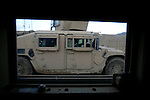 Afghan daily life as viewed from the side window of a US Army armoured vehicle driving in the highly volatile Logar province of Afghanistan in early May 2009...Photo: Guilad Kahn.