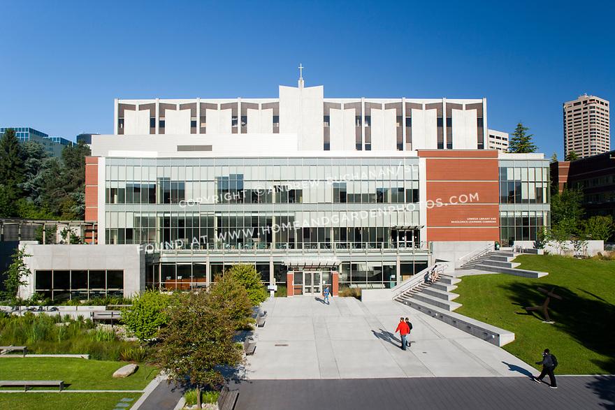 Lemieux Library, Seattle Univ.