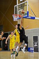 2012 FIBA Oceania Men's U19 Championship match between NZ Junior Tall Blacks and Australian Emus at Te Rauparaha Arena, Porirua, Wellington, New Zealand on Saturday, 22 September 2012. <br /> Photo by Masanori Udagawa<br /> www.photowellington.com