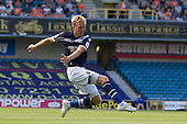 Josh Wright, Millwall FC with the best of few chances for the hosts - Millwall vs Blackpool - NPower Championship Football at the New Den, London - 18/08/12 - MANDATORY CREDIT: Ray Lawrence/TGSPHOTO - Self billing applies where appropriate - 0845 094 6026 - contact@tgsphoto.co.uk - NO UNPAID USE.