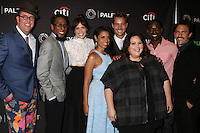 BEVERLY HILLS, CA - SEPTEMBER 13: Chris Sullivan, Ron Cephas Jones, Mandy Moore, Susan Kelechi Watson, Justin Hartley, Chrissy Metz, Sterling K. Brown, Milo Ventimiglia at the PaleyFest 2016 Fall TV Preview featuring NBC at the Paley Center For Media in Beverly Hills, California on September 13, 2016. Credit: David Edwards/MediaPunch