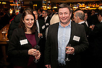 Gateley's Victoria Bandy with Alistair Butler of Atlanticorp