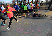 Safety talk, run for Jennifer Bikel