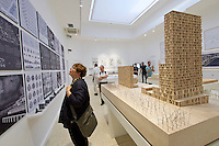 Venice, Italy - 15th Architecture Biennale 2016, &quot;Reporting from the Front&quot;.<br /> Giardini.<br /> U.S.A. Pavilion.<br /> The Architectural Imagination.<br /> Riverfront Post Office.