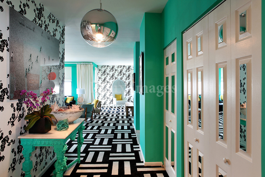 House of novogratz long branch new jersey usa dlux images for Colorful whimsical living room