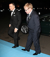 David Furnish; Elton John Grey Goose Winter Ball to benefit the Elton John AIDS Foundation, Battersea Evolution, London, UK, 29 October 2011:  Contact: Rich@Piqtured.com +44(0)7941 079620 (Picture by Richard Goldschmidt)