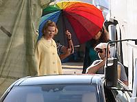 "Nicole Kidman on "" Grace of Monaco "" movie set - France"
