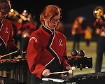 Lafayette High band member Kennedy O'Donnell vs. Shannon in Oxford, Miss. on Friday, September 14, 2012. Lafayette won 44-25 over Shannon to improve to 4-1.