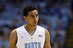 16 November 2014: North Carolina's Marcus Paige. The University of North Carolina Tar Heels played the Robert Morris University Colonials in an NCAA Division I Men's basketball game at the Dean E. Smith Center in Chapel Hill, North Carolina. UNC won the game 103-59.