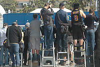 Check out the paparazzis at Santa Monica Beach shooting the  Independent Spirit Awards , AKA The Hipster Oscars. (Saturday, February 25, 2012).