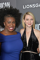 BEVERLY HILLS, CA. October 13, 2016: Uzo Aduba &amp; Valoria Curry at the Los Angeles premiere of &quot;American Pastoral&quot; at The Academy's Samuel Goldwyn Theatre.<br /> Picture: Paul Smith/Featureflash/SilverHub 0208 004 5359/ 07711 972644 Editors@silverhubmedia.com