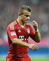 FUSSBALL   1. BUNDESLIGA  SAISON 2012/2013   5. Spieltag FC Bayern Muenchen - VFL Wolfsburg    25.09.2012 Xherdan Shaqiri (FC Bayern Muenchen)