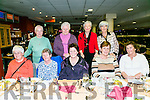 TRALEE FAILTE LADIES PROBUS CLUB enjoying a night out at the Kingdom Greyhound stadiun on Saturday Front l-r Marion Lamb, Bridie Scollard, Trese Collins, Phyllis Fitzgibbon, Helen Cable, President Probus  Back l-r Maureen Hanifin, Mary Collins, Noreen Hanifin, Mary O'Donnell