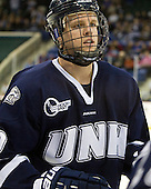 Blake Kessel (UNH - 20) - The visiting University of New Hampshire Wildcats defeated the University of Massachusetts-Lowell River Hawks 3-0 on Thursday, December 2, 2010, at Tsongas Arena in Lowell, Massachusetts.