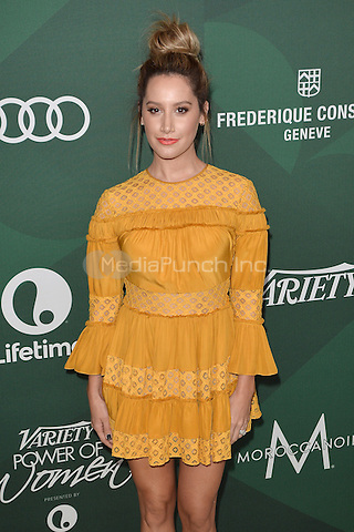 BEVERLY HILLS - OCTOBER 14:  Ashley Tisdale at Variety's Power Of Women Luncheon 2016 at the Beverly Wilshire Four Seasons Hotel on October 14, 2016 in Beverly Hills, California. Credit: mpi991/MediaPunch