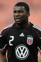 D.C. United defender Brandon McDonald (2) File photo RFK stadium 2011 season.