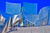 Walt Disney, Concert Hall,  Music Hall, Downtown, Los Angeles, CA,  Architectural, Building