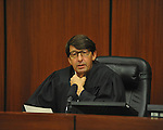 Judge Mike Mills presides over a Naturalization Ceremony at the U.S. District Court in Oxford, Miss., on Thursday, December 20, 2012.