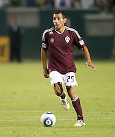 CARSON, CA – September 9, 2011: Colorado Rapid midfielder Pablo Mastroeni (25) during the match between LA Galaxy and Colorado Rapids at the Home Depot Center in Carson, California. Final score LA Galaxy 1, Colorado Rapids 0.