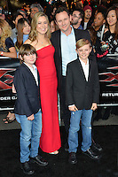 Vince Totino &amp; Family at the Los Angeles premiere for &quot;XXX: Return of Xander Cage&quot; at the TCL Chinese Theatre, Hollywood. Los Angeles, USA 19th January  2017<br /> Picture: Paul Smith/Featureflash/SilverHub 0208 004 5359 sales@silverhubmedia.com