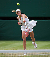 ANGELIQUE KERBER (GER)<br /> <br /> The Championships Wimbledon 2014 - The All England Lawn Tennis Club -  London - UK -  ATP - ITF - WTA-2014  - Grand Slam - Great Britain -  26th June 2014. <br /> <br /> &copy; AMN IMAGES