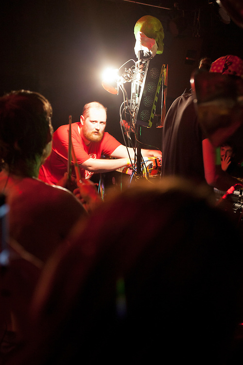 Dan Deacon, illuminated, Hopscotch Music Festival, Raleigh, N.C., Friday, September 7, 2012